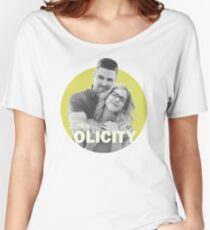 I Ship Olicity - Arrow Women's Relaxed Fit T-Shirt