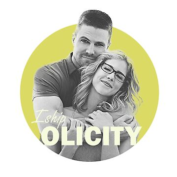 I Ship Olicity - Arrow by kirtash1