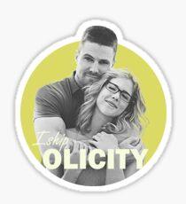 I Ship Olicity - Arrow Sticker