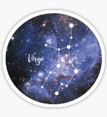 Virgo Zodiac Sign, August 23 - September 22 Sticker
