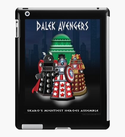 Marvel at the Su-WHO-per-heroes iPad Case/Skin