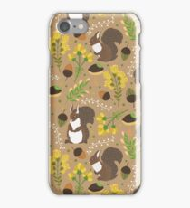 Chocolate squirrels iPhone Case/Skin