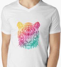 Warm Tiger Men's V-Neck T-Shirt