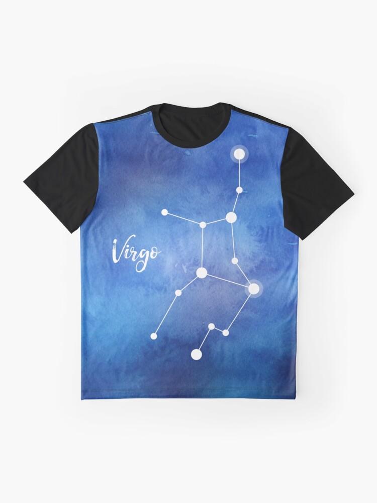 Alternative Ansicht von Jungfrau Sternzeichen, 23. August - 22. September Grafik T-Shirt