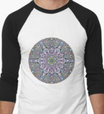 Piled Layers Of Pulled Bubble Gum Men's Baseball ¾ T-Shirt