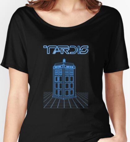 Retro Arcade Film Box  Women's Relaxed Fit T-Shirt