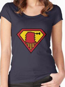 Super-Dalek Women's Fitted Scoop T-Shirt