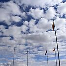 Four Corners Flags by Katagram