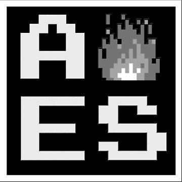 AES - Stylish Logo by AESociety