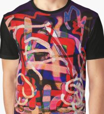 Dancing Colors Graphic T-Shirt