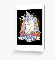 One of a Kind Creature Greeting Card