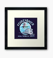 F- 78 WORLD TOUR Framed Print