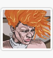Leeloo Sticker