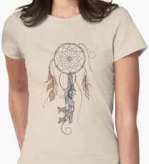 Key To Dreams Womens Fitted T-Shirt