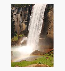 Waterfall Rainbow Photographic Print
