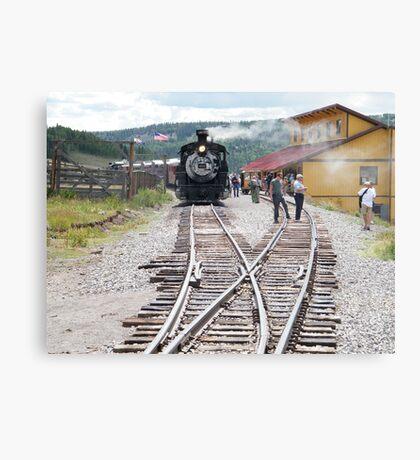 Cumbres-Toltec Narrow-Gauge Railroad,Colorado Canvas Print