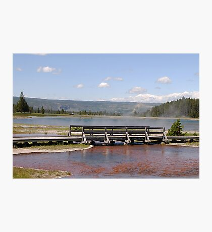 Smoke On The Water Photographic Print