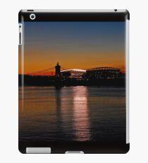 Sunset on Paul Brown Stadium iPad Case/Skin