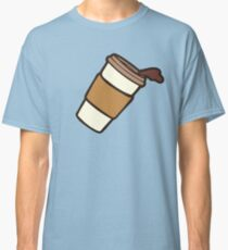 Take it Away Coffee Pattern Classic T-Shirt