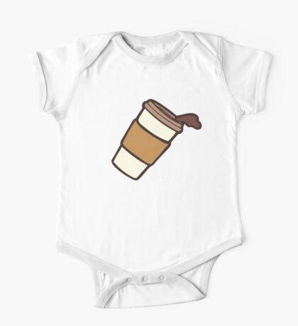 Take it Away Coffee Pattern Kids Clothes