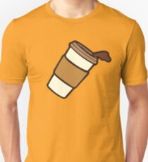 Take it Away Coffee Pattern Unisex T-Shirt