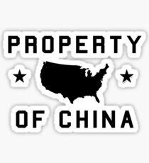 Property of China (sport version) Sticker