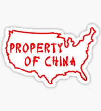 Property of China Sticker