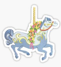 Jolly Holiday Carousel Sticker
