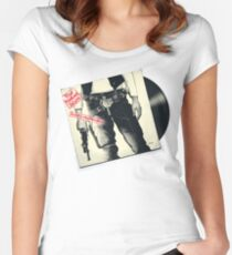 The Rebel Scum Sticky Tunes Women's Fitted Scoop T-Shirt