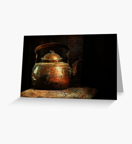 Put the Kettle On Greeting Card