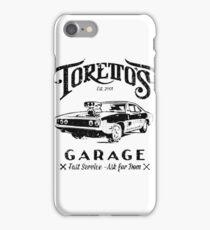 Torettos Garage iPhone Case/Skin