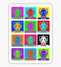 Doctor Who - Andy Warhol (Cybermen) Sticker