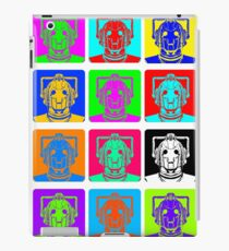 Doctor Who - Andy Warhol (Cybermen) iPad Case/Skin