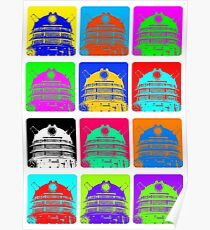 Doctor Who - Andy Warhol (Daleks) Poster