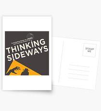 The 2016 Thinking Sideways Logo Postcards