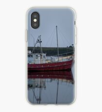 A boat in the harbour is safe iPhone Case