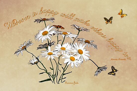 Younger Than Springtime ~ Daisies by SummerJade