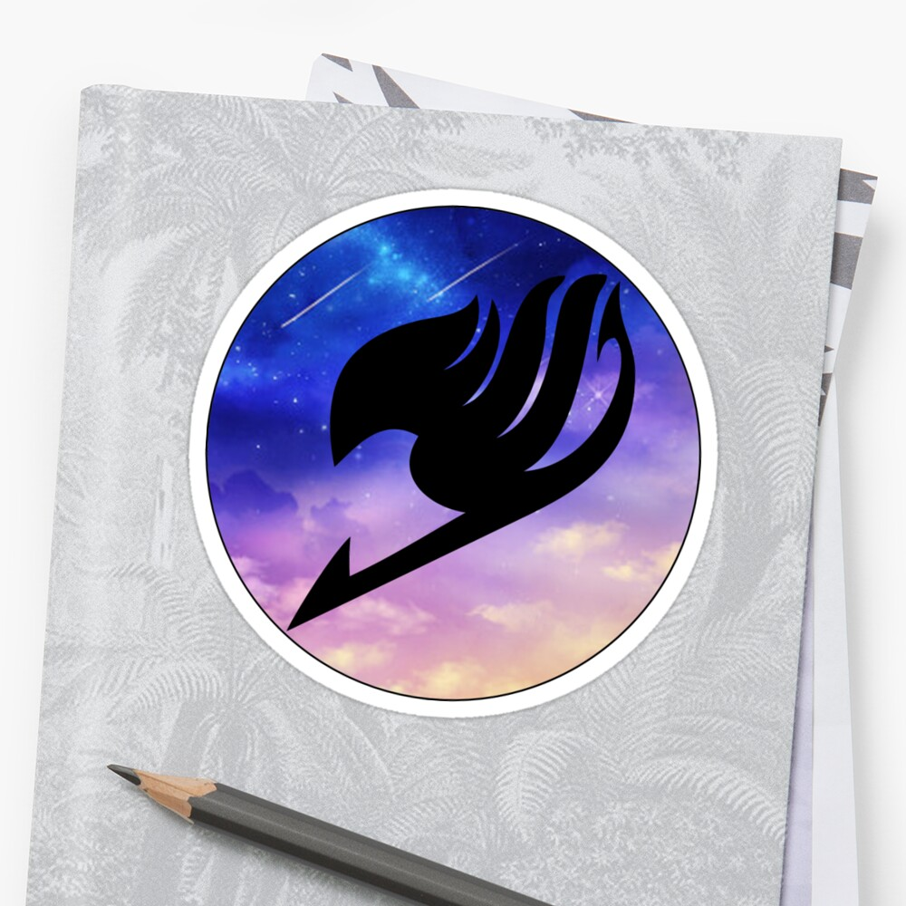 Fairy tail symbol stickers by rose henwood redbubble fairy tail symbol by rose henwood biocorpaavc Image collections