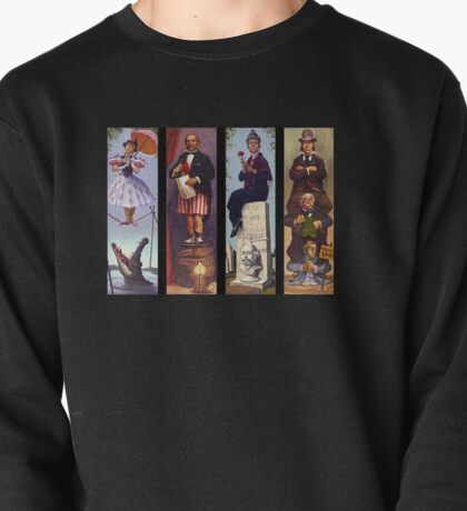 Haunted mansion all character Pullover