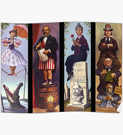 Haunted mansion all character Poster