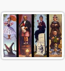 Haunted mansion all character Sticker