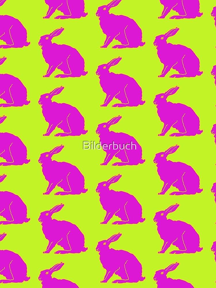 Pink rabbit by Bilderbuch