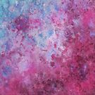Abstract Pink Fizz by Michelle Wrighton