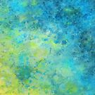 Abstract Beach Fizz by Michelle Wrighton