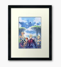 Xenoblade Chronicles Framed Print