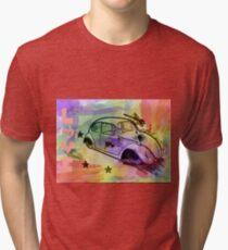 Retro Love Tri-blend T-Shirt
