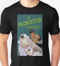A Monster Mistake Feature Film Official Poster T-Shirt