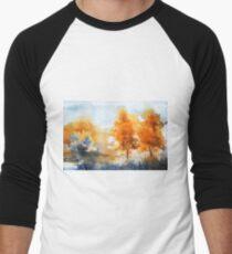 akwarelka 113 Men's Baseball ¾ T-Shirt