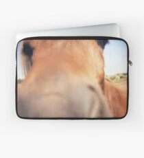 The Nosey Horse Laptop Sleeve