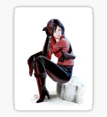 Resident evil - Ada Wong Tribute Sticker